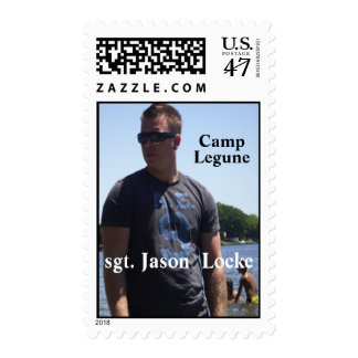 U.S. Postage Stamp Honoring Jason Locke