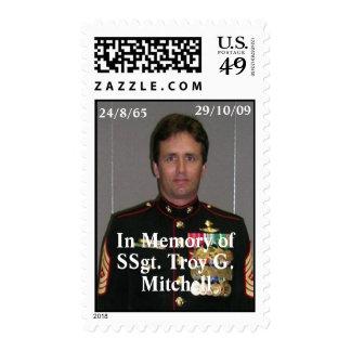 U S Postage Stamp Honoring Mitchell