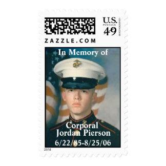 U S Postage Stamp Honoring Pierson
