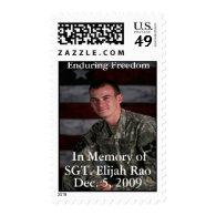 U S Postage Stamp Honoring  Rao