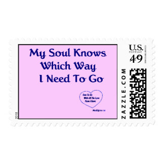 U.S. Postage Stamp My Soul Knows with Heart