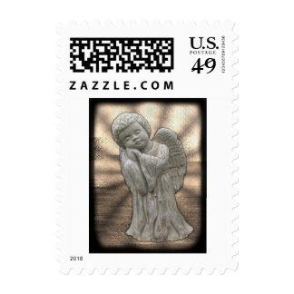 U.S.Postage Stamps - Concrete Angel