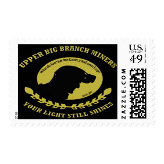 U. S. Postage Stamps Upper Big Branch Miners