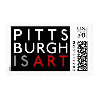 U.S. Postal Service Pittsburgh is Art Stamps
