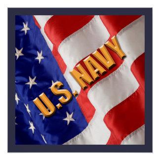 U.S. Poster de la marina de guerra Perfect Poster