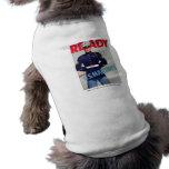 """U.S. Poster del """"listo"""" del Cuerpo del Marines WWI Camiseta De Perro"""