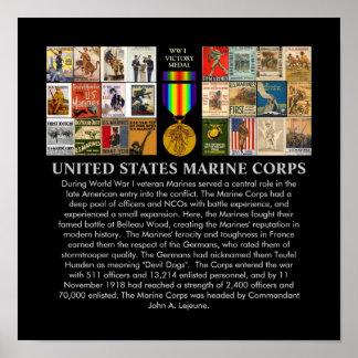 U S Posters de reclutamiento de la guerra mundial