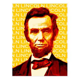 U.S. President Abraham Lincoln Portrait Postcard