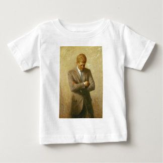 U.S. President John F. Kennedy by Aaron Shikler Baby T-Shirt
