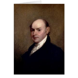 U.S. President John Quincy Adams by Gilbert Stuart Card