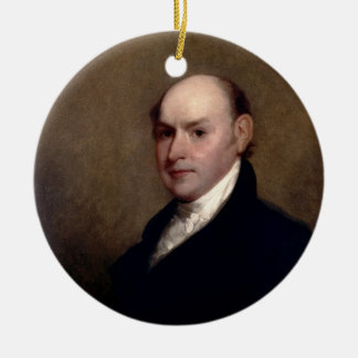 U.S. President John Quincy Adams by Gilbert Stuart Ornament
