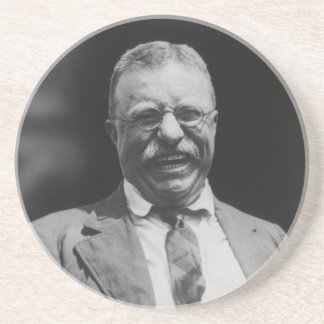 U.S. President Theodore Teddy Roosevelt Laughing Coasters