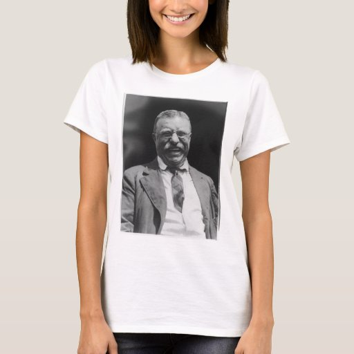 U.S. President Theodore Teddy Roosevelt Laughing T-Shirt