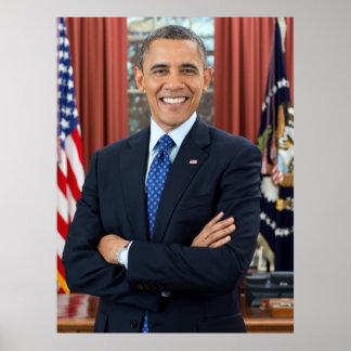 U S Presidente Barack Obama Posters