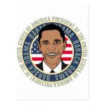 U.S. Presidente Barack Obama Tarjeta Postal
