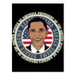 U.S. Presidente Barack Obama Tarjetas Postales