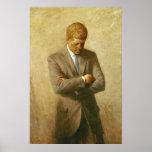 U.S. Presidente John F. Kennedy de Aaron Shikler Posters