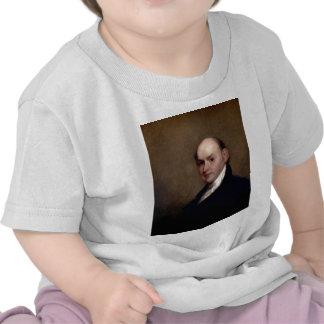 U.S. Presidente John Quincy Adams de Gilbert Estua Camiseta