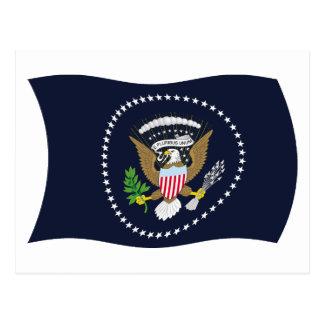 U.S. Presidential Seal Flag Postcard