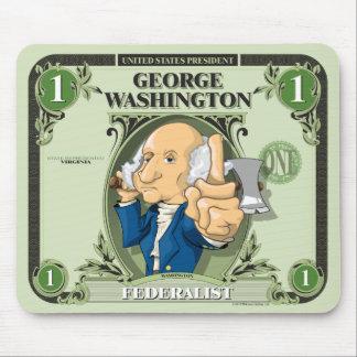 U.S. Presidents Mousepad: #1 Washington Mouse Pad