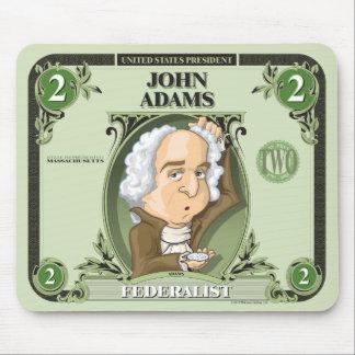 U.S. Presidents Mousepad: #2 John Adams Mouse Pad