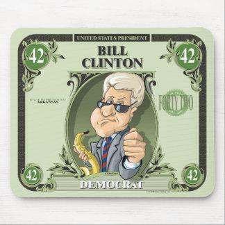 U.S. Presidents Mousepad: #42 Bill Clinton Mouse Pad
