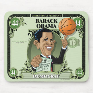 U.S. Presidents Mousepad: #44 Barack Obama Mouse Pad