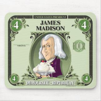 U.S. Presidents Mousepad: #4 James Madison Mouse Pad