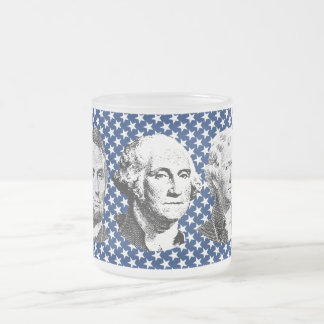 U.S. Presidents with Stars Background Mugs