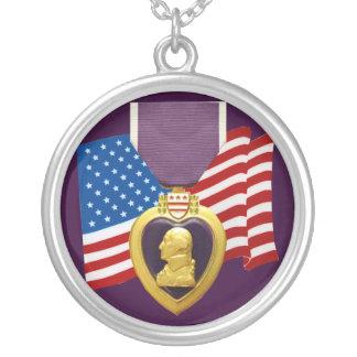 U.S. Purple Heart Necklace