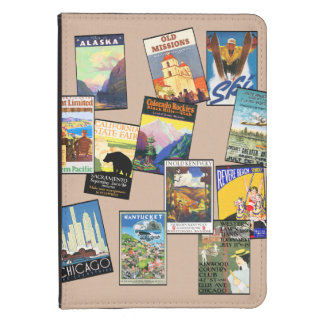 U.S. Retro travel Kindle Touch Cover
