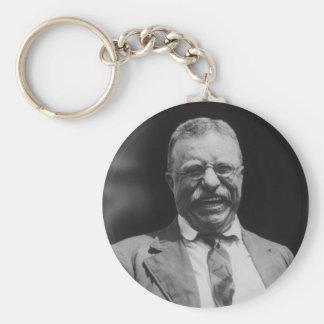 U S Risa de presidente Theodore Teddy Roosevelt Llaveros Personalizados