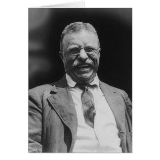 U S Risa de presidente Theodore Teddy Roosevelt Tarjeta