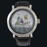 """U S S Albany CG-10 wrist watch<br><div class=""""desc"""">A commemorative watch honoring all who served aboard the U.S.S. Albany</div>"""