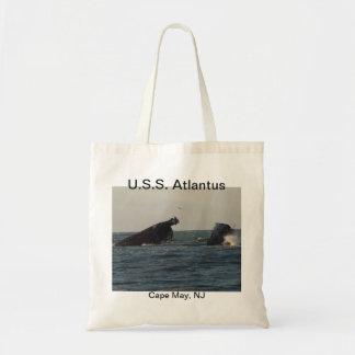 U.S.S. Atlantus Shipwreck Cape May New Jersey Tote Bag
