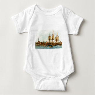 U.S.S. Barco de la Armada de Alfred de Nowland Van Body Para Bebé