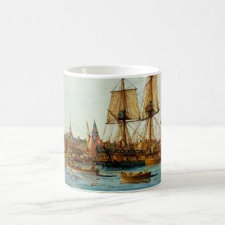 U.S.S. Barco de la Armada de Alfred de Nowland Van Taza De Café