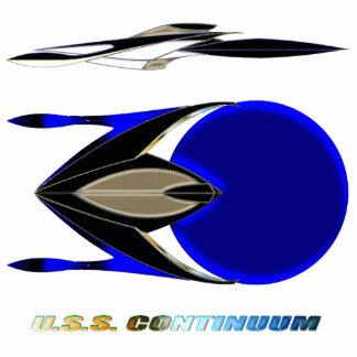 U.S.S. CONTINUUM_MCC-1776_Theater Class Photo Sculpture Magnet