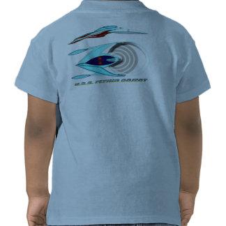 U.S.S. FLYING OBJECT_MCC-1947_UFO Class T-shirts