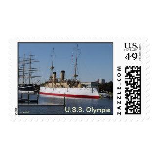 U.S.S. Olympia protegió el crucero Franqueo