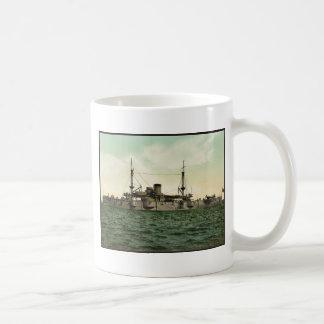 "U.S.S. ""Texas"" classic Photochrom Classic White Coffee Mug"