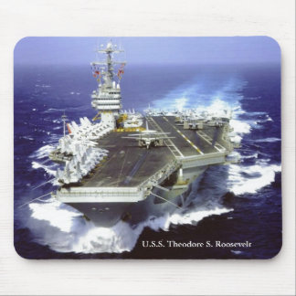 U.S.S. Theodore Roosevelt Mouse Pad
