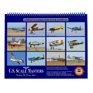 U.S. Scale Masters Calendar for scale modelers