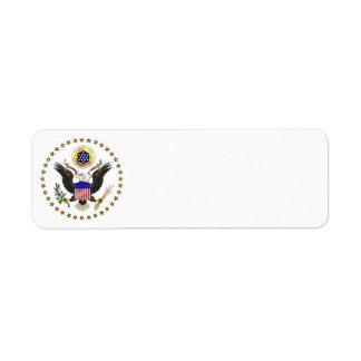 U.S. Seal Label