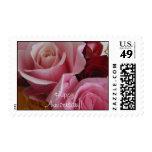 U.S. Sello, Ramo-Aniversario color de rosa