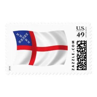 U.S. Sellos de la bandera de la iglesia episcopal