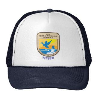 U.S. Servicio de los pescados y de la fauna jubila Gorro