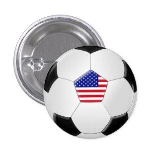 U.S. Soccer Ball Button