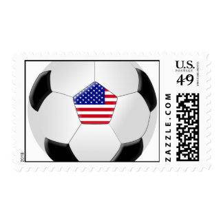 U.S. Soccer Ball Stamp