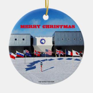 U.S. - South Pole Antarctic Station Ornament